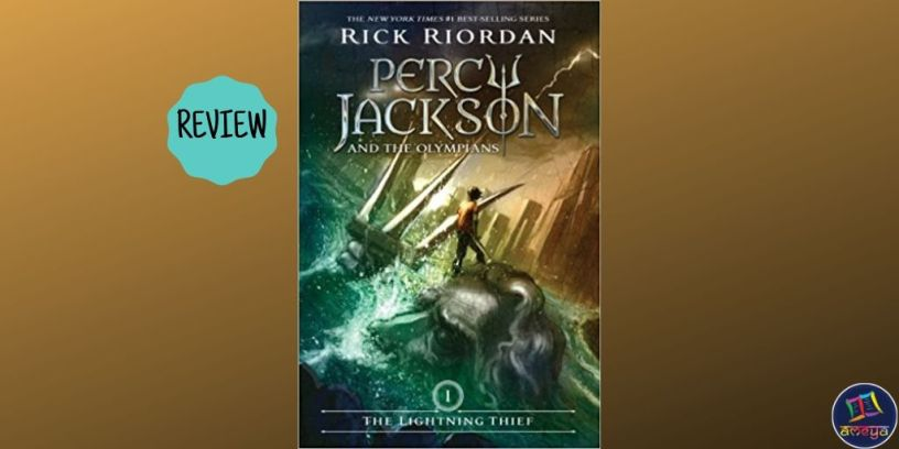 Book review of Rick Riordan's 'The Lightning Thief'