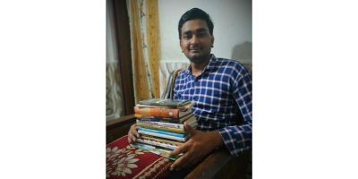 Mayank Srivastava had a rather peculiar introduction to the world of literature