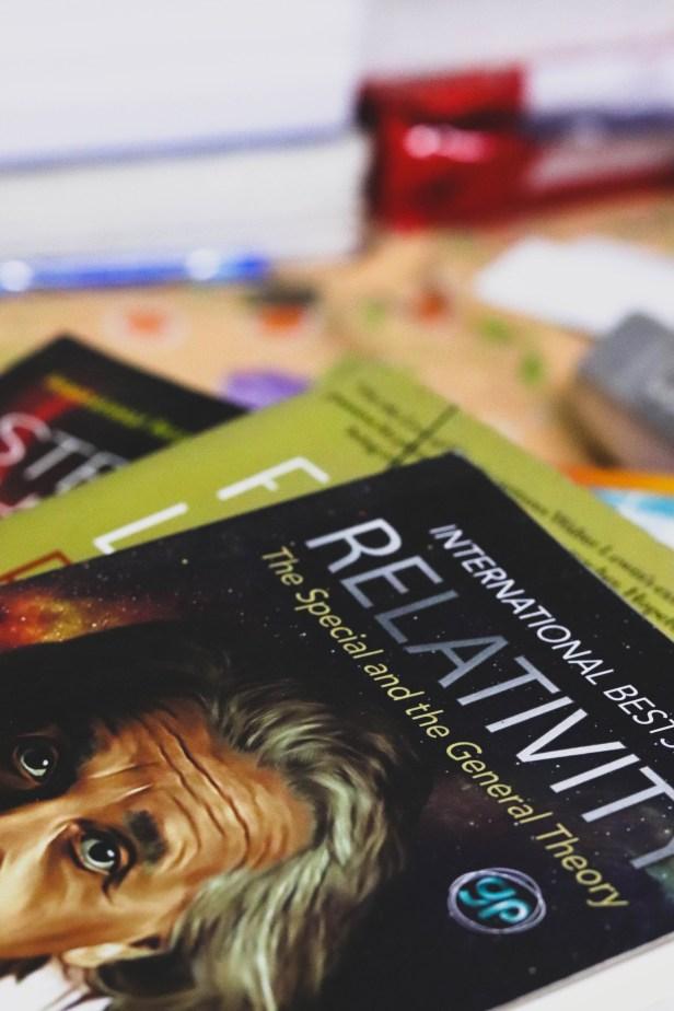 Rohit Samanta thoroughly enjoyed reading Einstein's 'The Theory of Relativity'