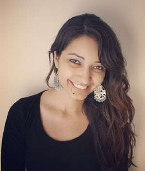 Shreya Shively, author of the book In Search of Spring