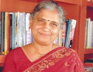 Sudha Murty, author of Grandparents' Bag of Stories