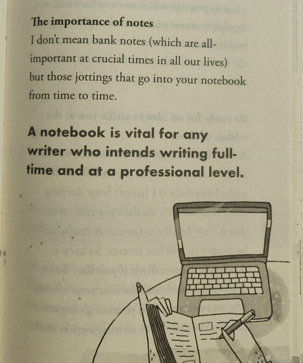 Tips for writers on how to take notes, from An excerpt from How to be a Writer by Ruskin Bond