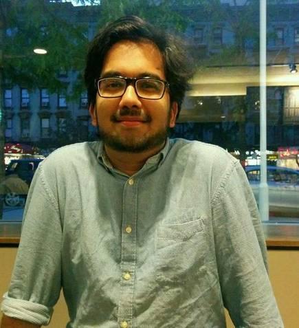 Keerthik Sasidharan, author of the Mahabharata-based philosophical novel The Dharma Forest