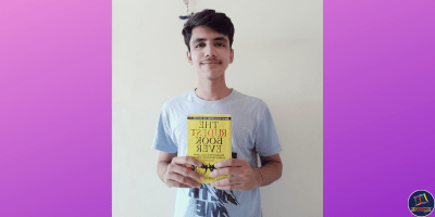 Heet Barot attributes the paradigm shift in his outlook on life to his newfound love for books