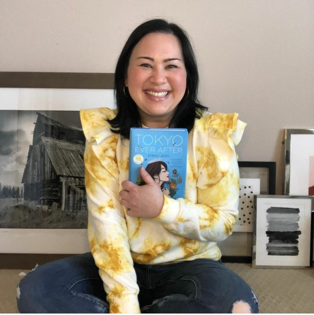 Emiko Jean, author of the children's fiction novel Tokyo Ever After