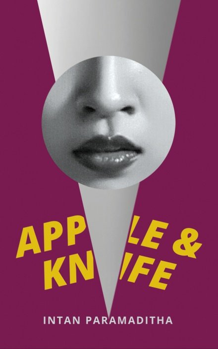 Apple and Knife Intan