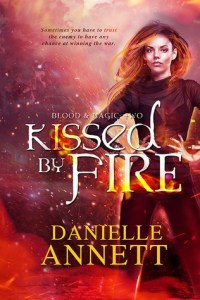 Kissed by Fire by Danielle Annett - A Book Review #bookreview #UrbanFantasy #Romance