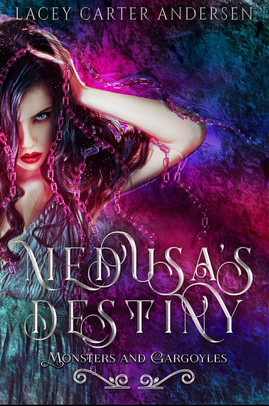 Medusas Destiny by Lacey Carter Andersen - A Book Review #BookReview #WhyChoose #Fastburn #RH #Paranormal #Monsters #Gargoyles #NewRelease #4Stars