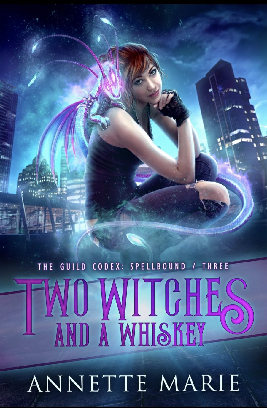 Two Witches and a Whiskey by Annette Marie - A Book Review #bookreview #bookblogger #UrbanFantasy #UF #Action #Magic #Witches #Druid