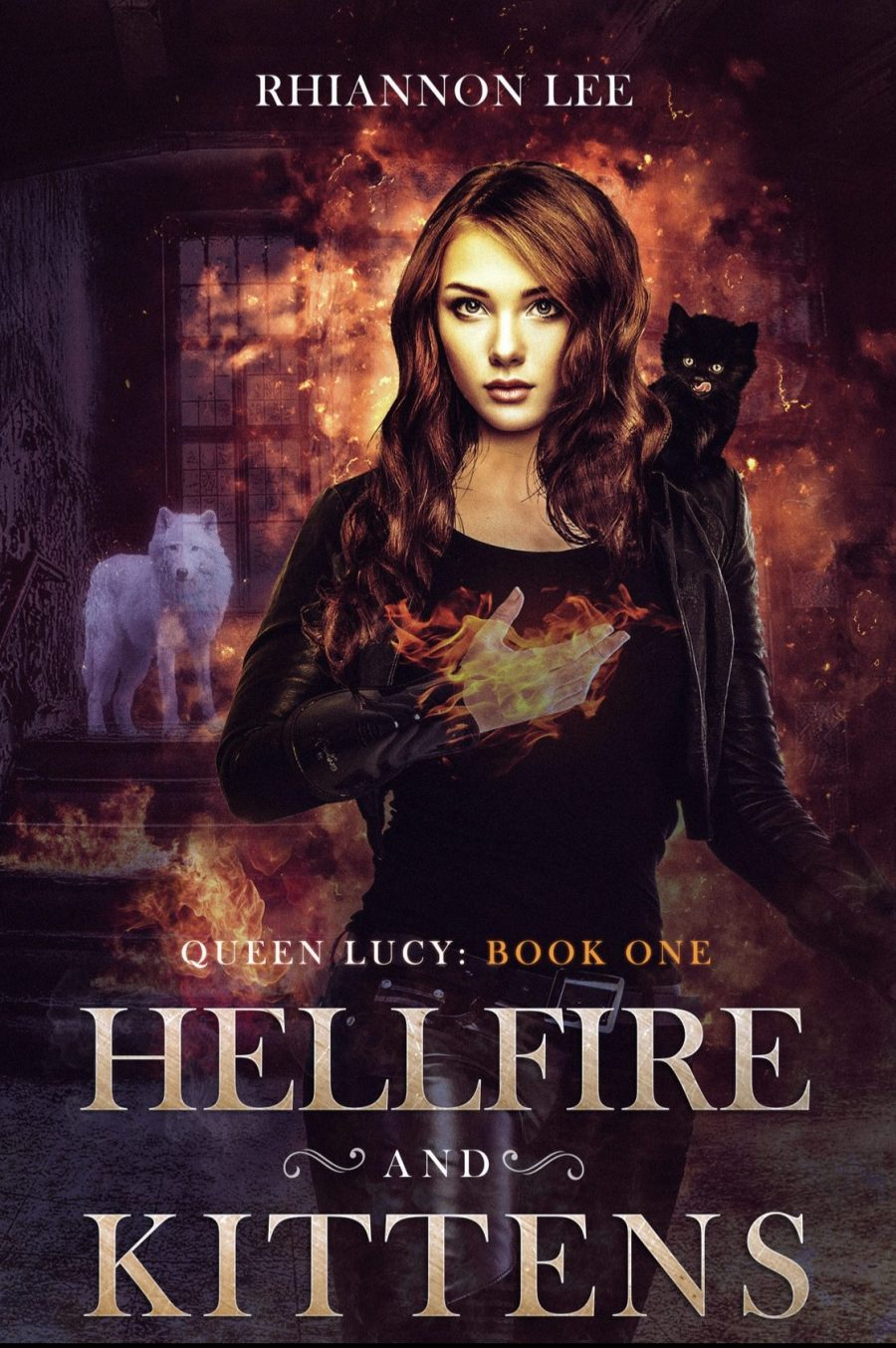 Hellfire and Kittens *Queen Lucy - Book 1* by Rhiannon Lee - A Book Review #BookReview #RH #WhyChoose #SlowBurn #Demons #Hell #Devil #Paranormal #PNR