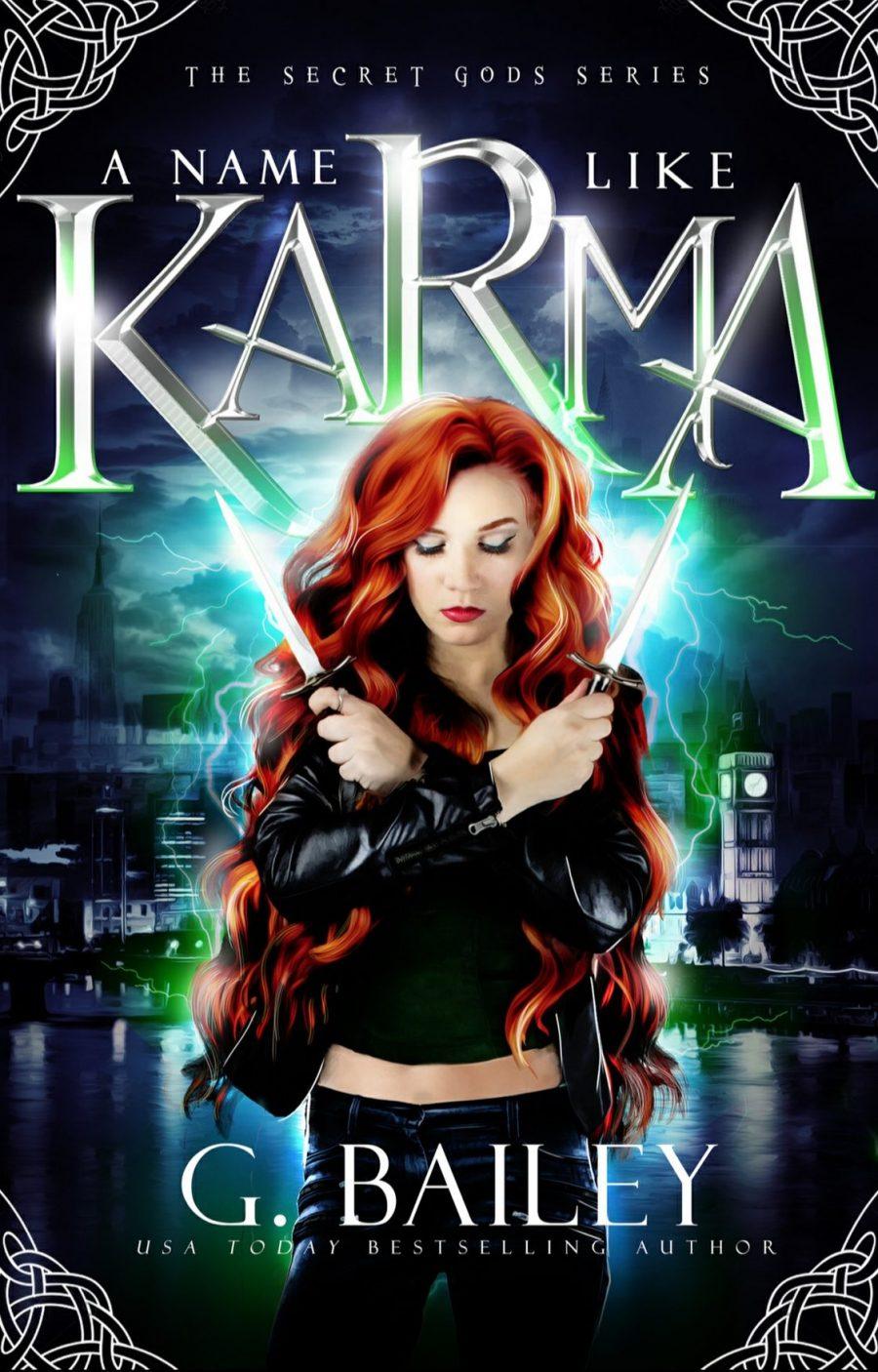 A Name Like Karma by G. Bailey - A Book Review #BookReview #RH #WhyChoose #ReverseHarem #PNR #Paranormal #SlowBurn #Gods