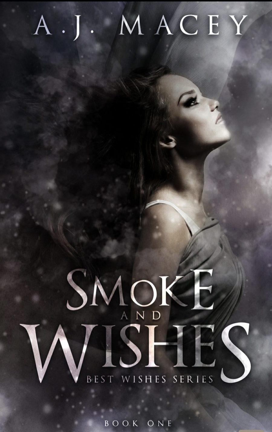 Smoke and Wishes *Best Wishes Series - Book 1* by A.J. Macey - A Book Review #BookReview #RH #WhyChoose #PNR #ReverseHarem #Academy #Paranormal #BooksAndBlurbs