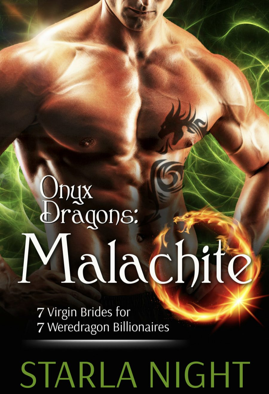 Onyx Dragons: Malachite by Starla Night - A Book Review #BookReview #Fantasy #Paranormal #Alien #HEA #Shifters #BBW