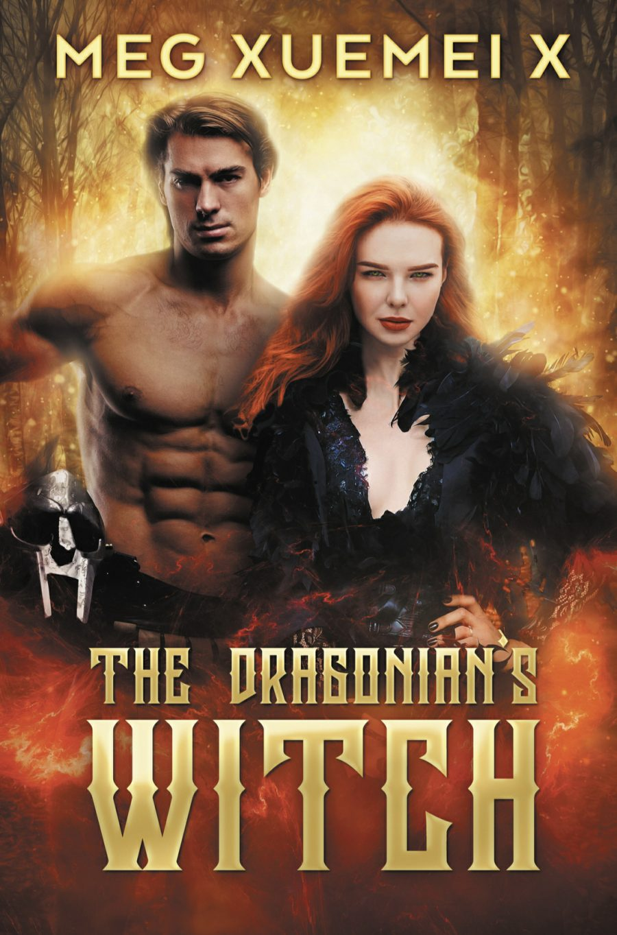 The Dragonian's Witch by Meg Xuemeix - A Book Review #BookReview #Fantasy #Romance #Myth #Angels #Witch #Shifters #2BookSeries #NewToMe