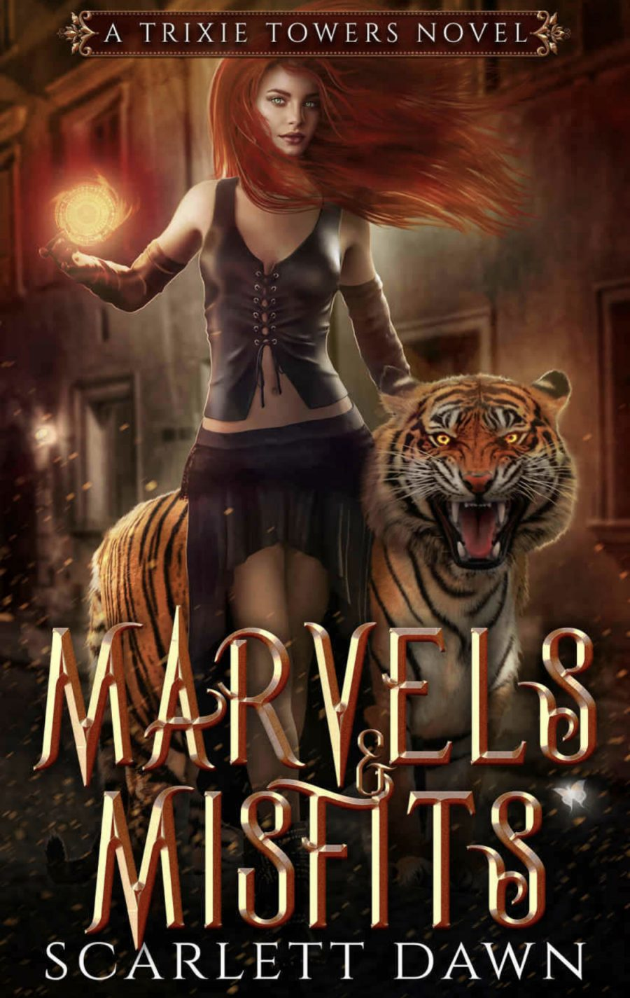 Marvels & Misfits by Scarlett Dawn - A Book Review #BookReview #Fantasy #Adventure #Elves #Shifters #Misfits #Realms #NewRelease #WouldRecommend #5Star #KU