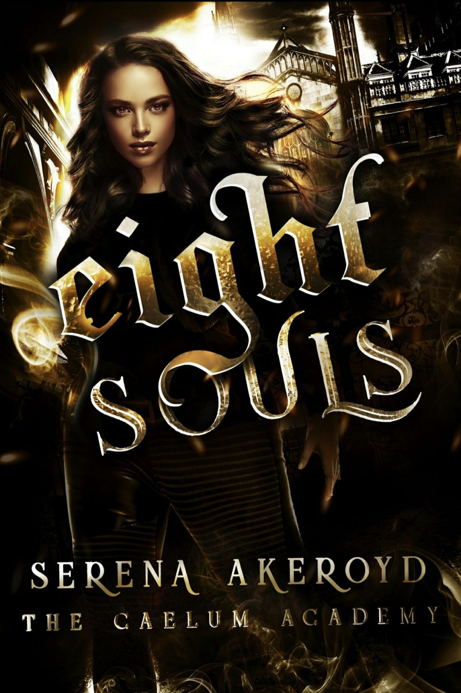 Eight Souls by Serena Akeroyd - A Book Review #BookReview #SlowBurn #RH #WhyChoose #Academy #PNR #Paranormal #ReverseHarem #Bully #NA #KindleUnlimited #KU #5Star