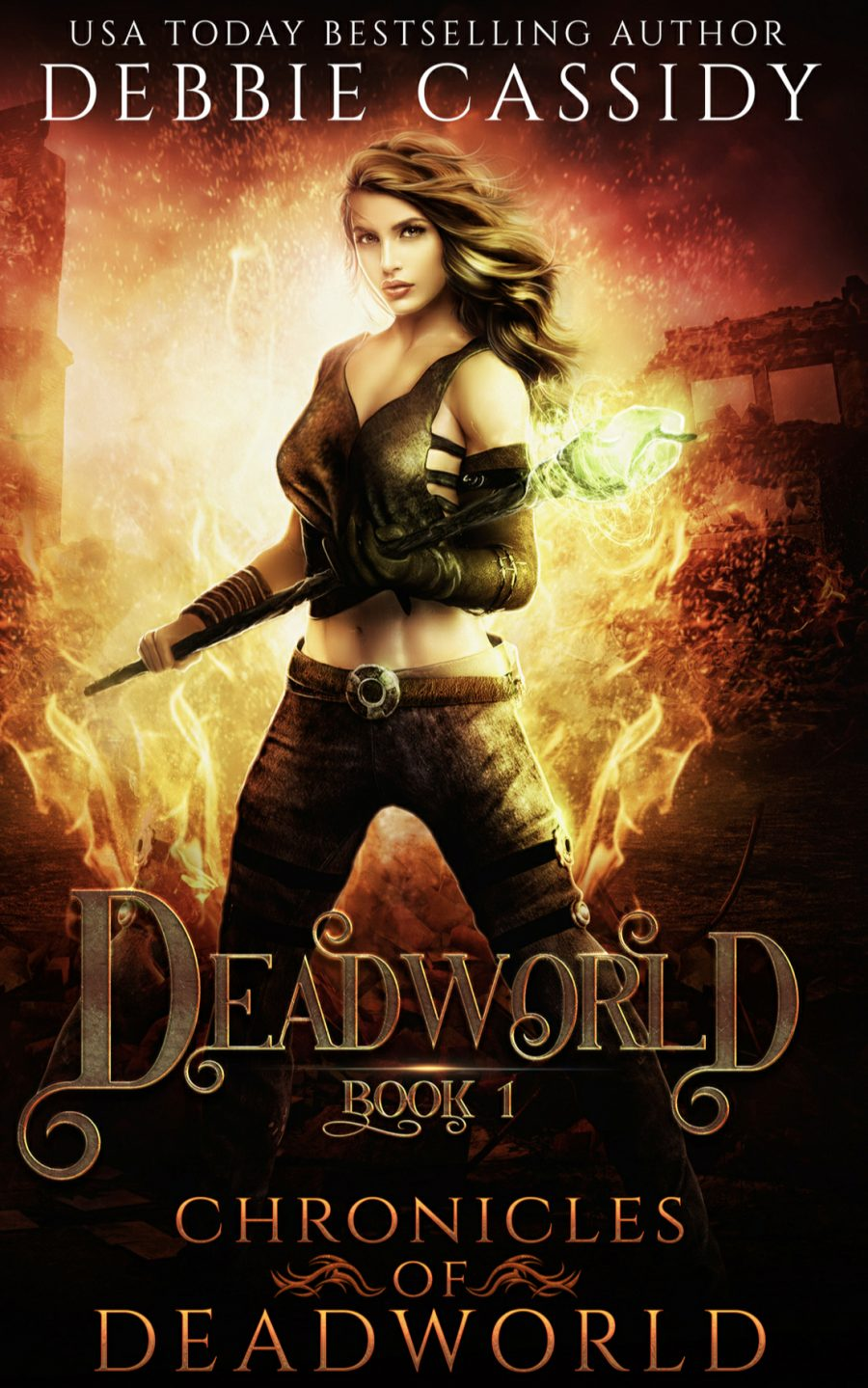Deadworld: Chronicles of Deadworld - Book 1 by Debbie Cassidy - A Book Review #BookReview #PNR #Slowburn #RH #Dystopian #SeriesComplete #KindleUnlimited #KU #MustRead