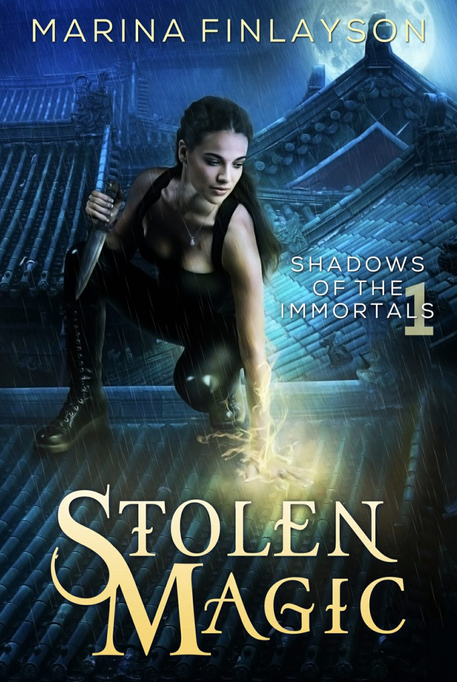 Stolen Magic by Marina Finlayson - A Book Review #UrbanFantasy #FastPaced #CompleteSeries #OldRelease #4Stars #KindleUnlimited #KU