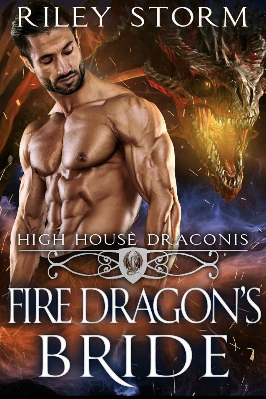 Fire Dragon's Bride (High House of Draconis) by Riley Storm - A Book Review #BookReview #PNR #ShifterRomance #HEA #Dragons