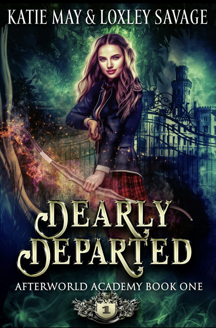 Dearly Departed by Katie May & Loxley Savage - A Book Review #BookReview #Fantasy #RH #Academy #MediumBurn #WhyChoose #ReverseHarem #WouldRecommend