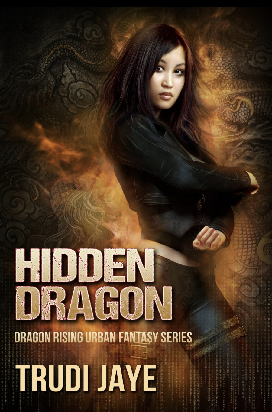 Hidden Dragon by Trudi Jaye - A Book Review #BookReview #UrbanFantasy #UF #Dragons #Magic #War #4Stars #KindleUnlimited #KU