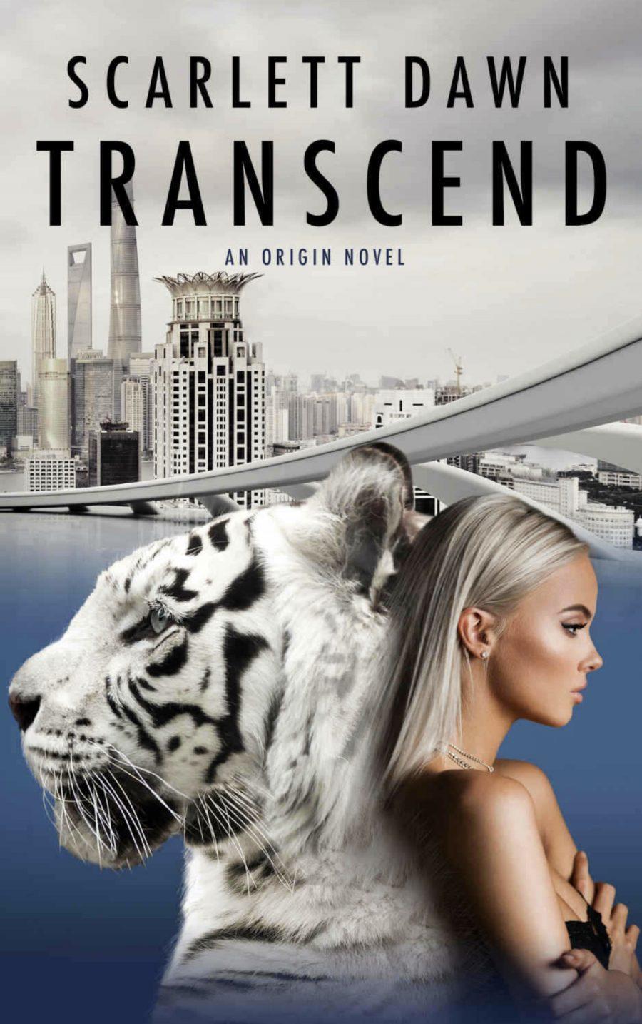Transcend by Scarlett Dawn - A Book Review #BookReview #OlderRelease #FantasyRomance #Dystopian #Shifter #4Stars #KindleUnlimited #KU