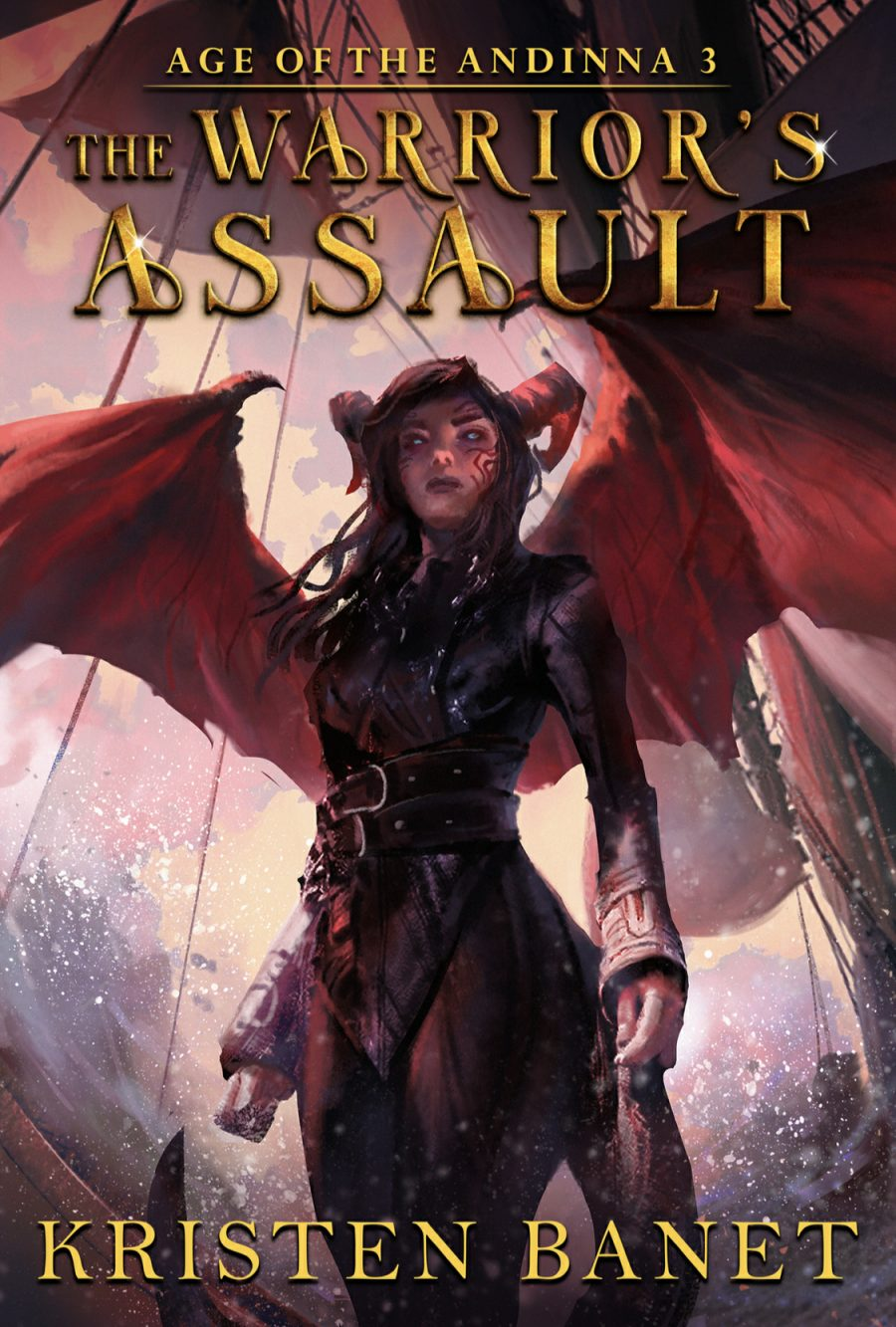 The Warrior's Assault by Kristen Banet - A Book Review #BookReview #EpicFantasy #SlowBurn #RH #5Stars #MustRead #Book3 #KindleUnlimited #KU