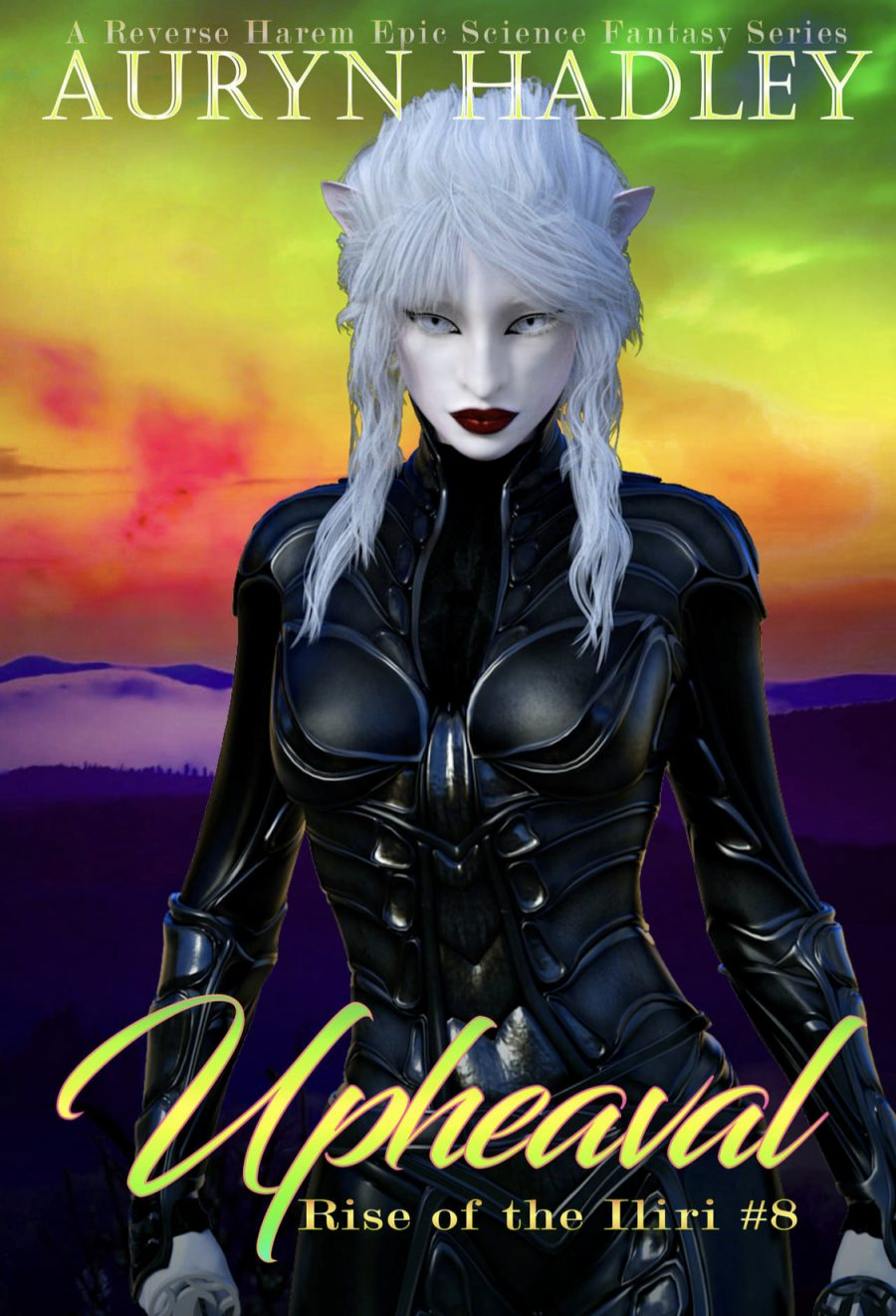 Upheaval (Rise of the Iliri - Book 8) by Auryn Hadley - A Book Review #BookReview #SciFi #EpicFantasy #SlowBurn #RH #5Stars #KindleUnlimited #KU #SeriesComplete