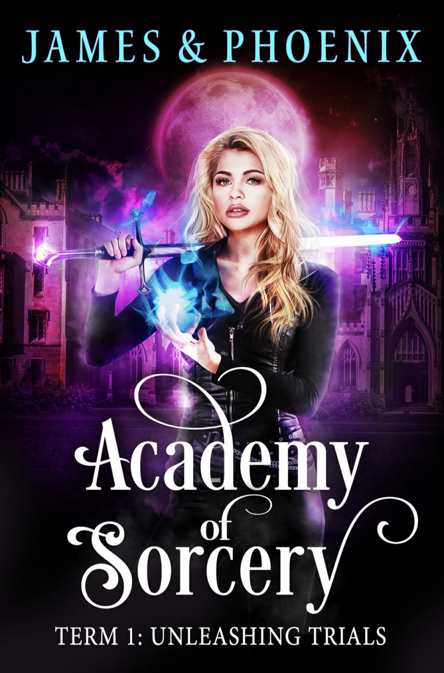 Unleashing Trials:Year 1 (Academy of Sorcery - Book 1) by Alexa B. James & Athena Phoenix - A Book Review #BookReview #SlowBurn #RH #Academy #PNR #KindleUnlimited #KU