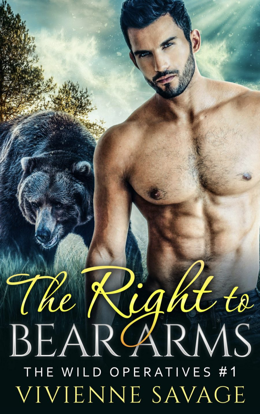 The Right to Bear Arms by Vivienne Savage - A Book Review #BookReview #PNR #Shifter #HEA #OlderBook #StandAloneWithinSeries #BBW #Short