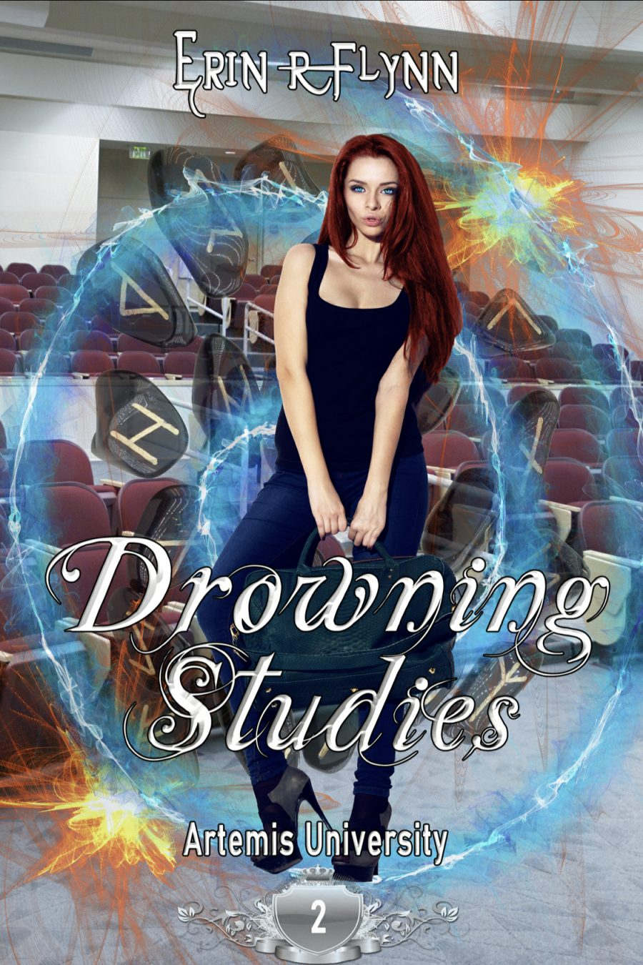Drowning Studies (Artemis University - Book 2) by Erin R. Flynn - A Book Review #BookReview #Academy #SlowBuild #MediumBurn #RH #4Stars #KindleUnlimited #KU