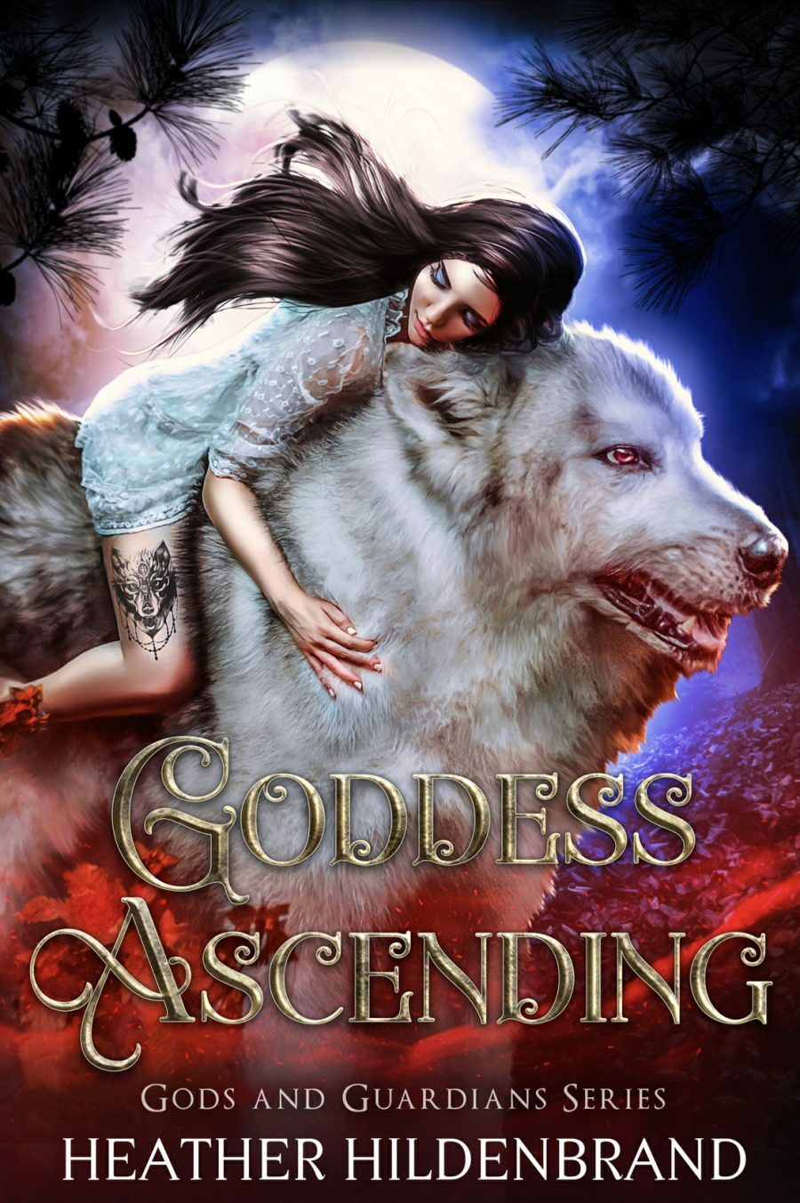 Goddess Ascending by Heather Hildenbrand - A Book Review #BookReview #Fantasy #YA #SlowBurn #RH #ReverseHarem #KindleUnlimited #3Stars #KU