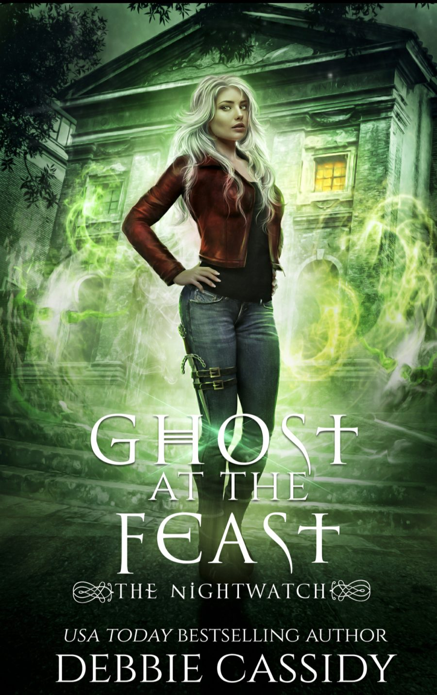 Ghost at the Feast (the Nightwatch - Book 3) by Debbie Cassidy - A Book Review #BookReview #UrbanFantasy #UF #4Stars #KindleUnlimited #KU