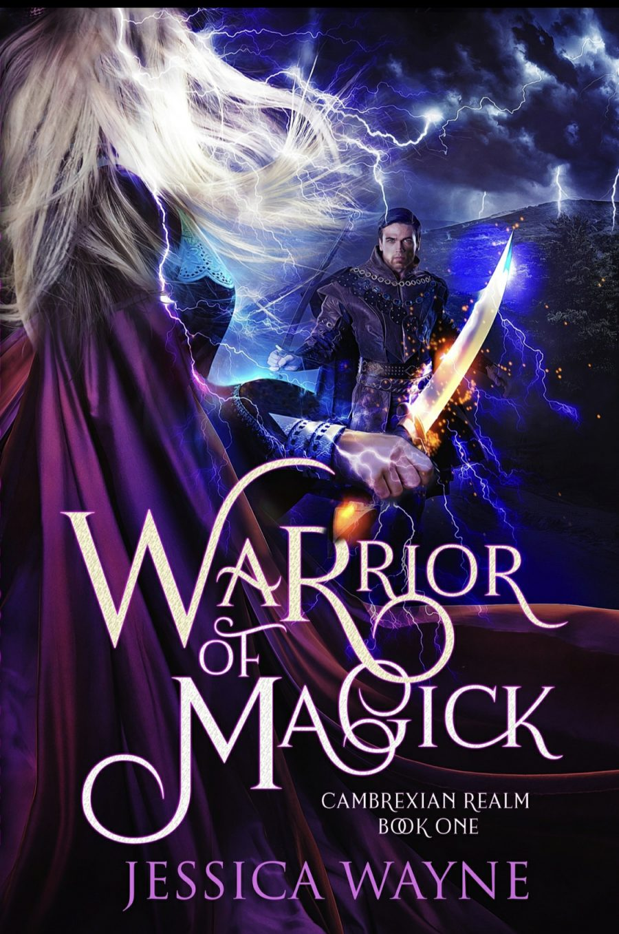 Warrior of Magick by Jessica Wayne - A Book Review #BookReview #Fantasy #NewReleases #GreatRead #KindleUnlimited #KU