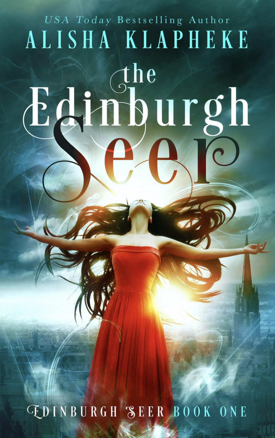 The Edinburgh Seer (Edinburgh Seer - Book 1) by Alisha Klapheke - A Book Review #PNR #Dystopian #AlteredHistory #SeriesComplete #3Stars #KindleUnlimited #KU