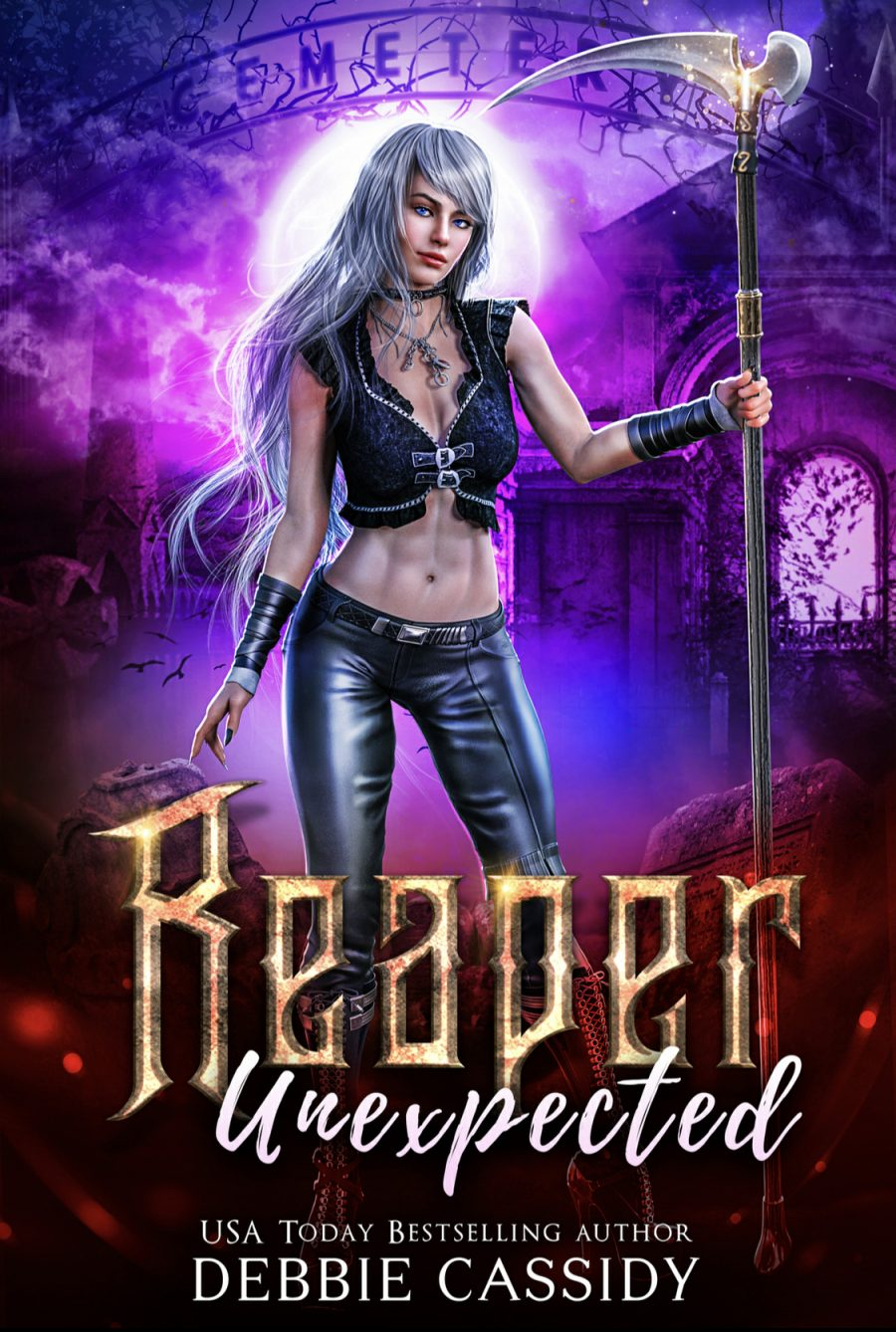 Reaper Unexpected by Debbie Cassidy - A Book Review #BookReview #PNR #UF #NewRelease #5Stars #SlowBurn #RH #KindleUnlimited #KU