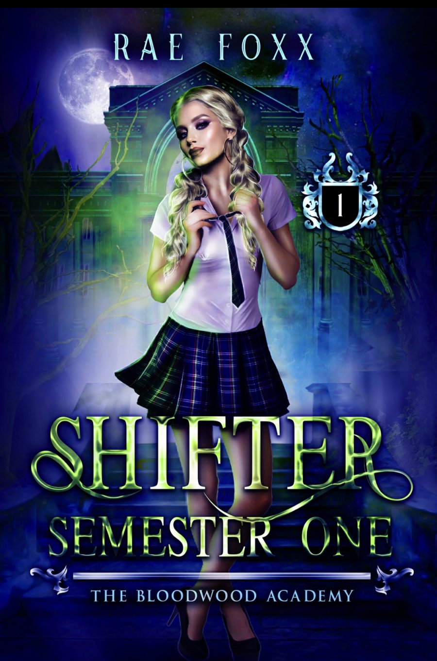 Shifter: Semester One (The Bloodwood Academy - Book 1) by Rae Foxx - A Book Review #BookReview #FastBurn #RH #Academy #PNR #Steamy