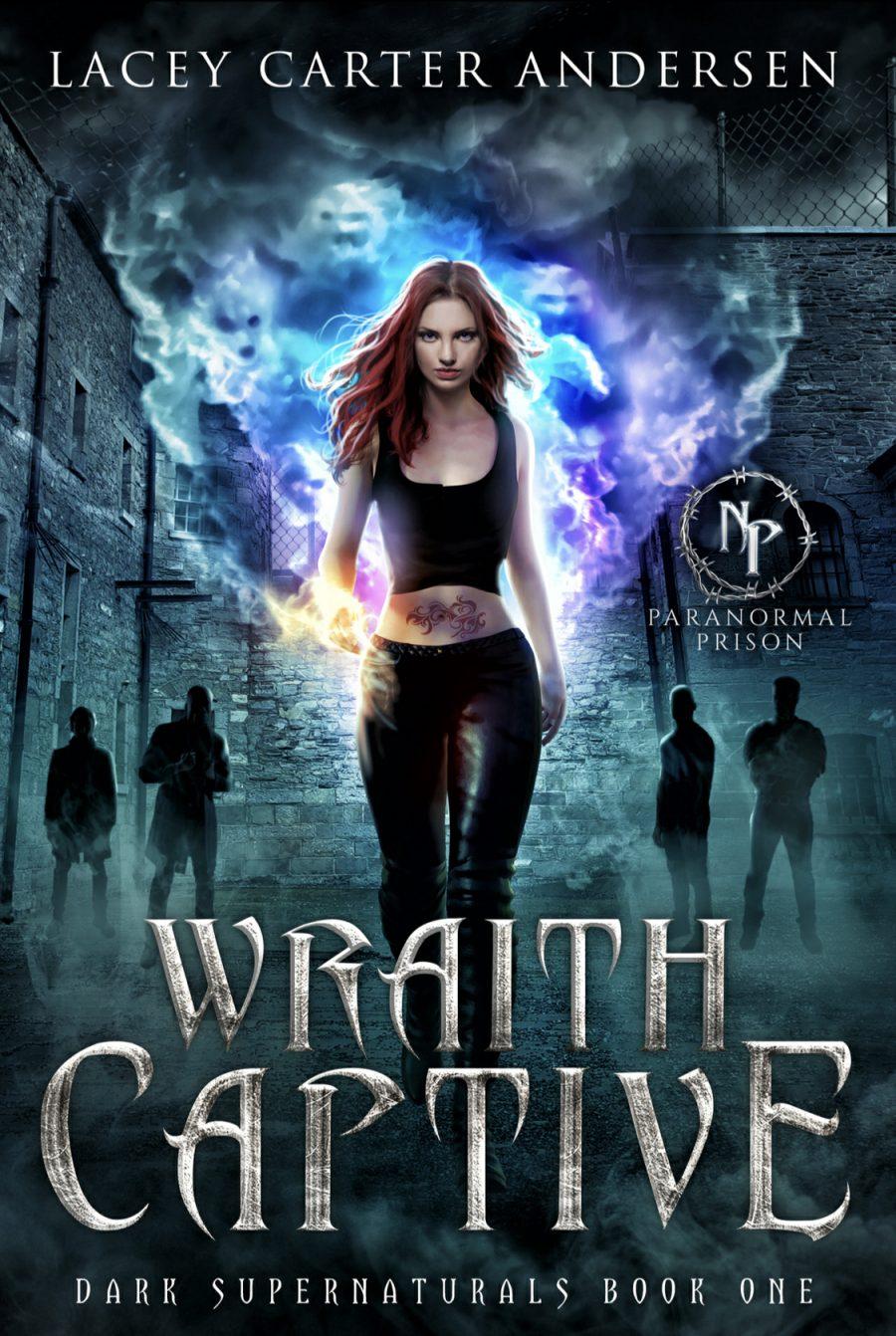 Wraith Captive by Lacey Carter Anderson - A Book Review #FastBurn #RH #PNR #4Stars #ParanormalPrison #KindleUnlimited #KU