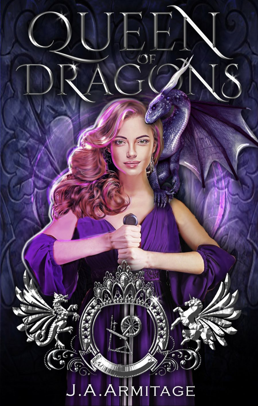 Queen of Dragons (Kingdom of Fairytales - Book 1) by J.A. Armitage - A Book Review #BookReview #FairyTale #4Stars #Fantasy #YA #SleepingBeauty #KindleUnlimited #KU