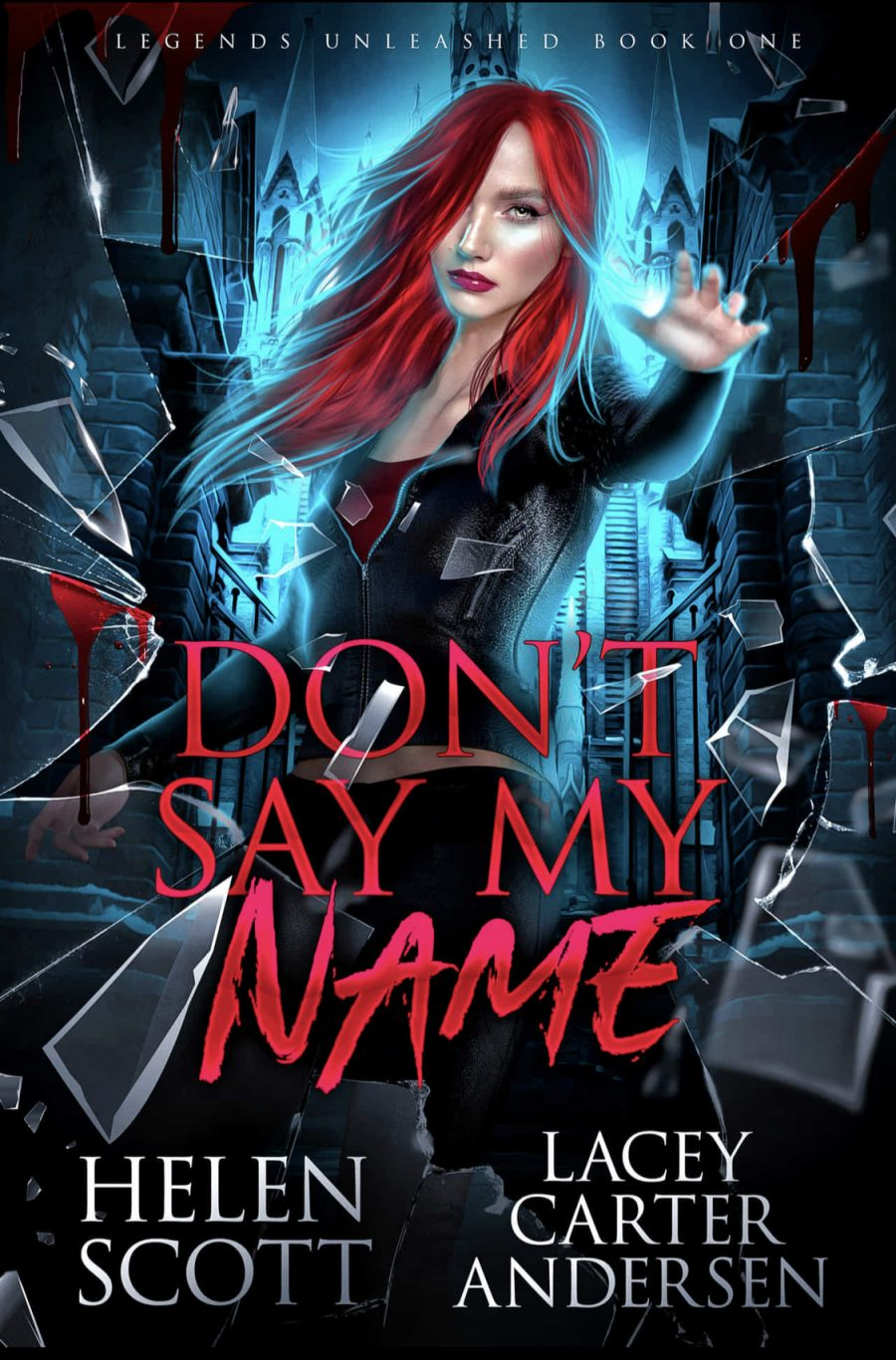 Don't Say My Name by Helen Scott & Lacey Carter Anderson - A Book Review #BookReview #PNR #MediumBurn #RH #KindleUnlimited #KU
