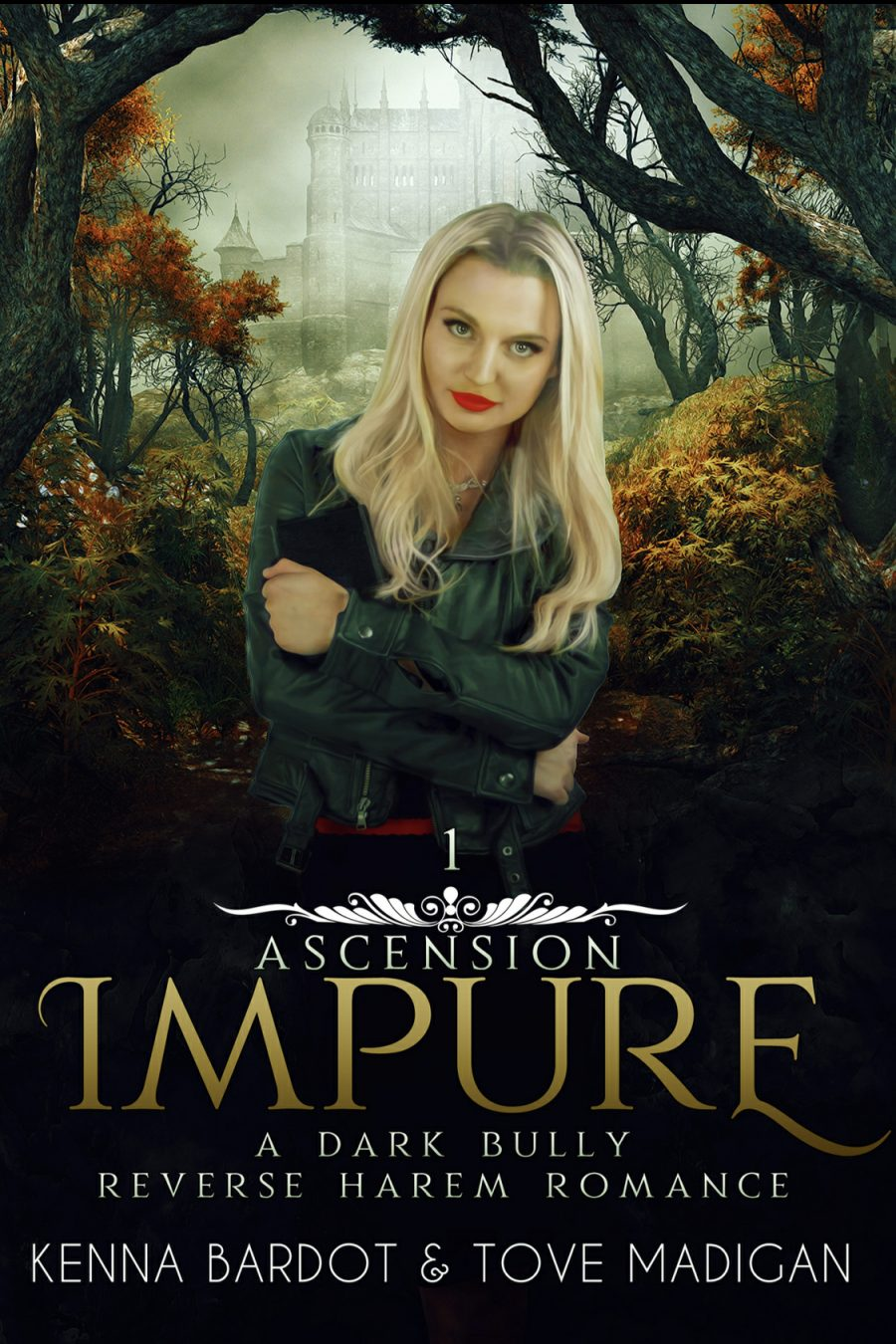 Impure (Ascension - Book 1) by Kenna Bardot & Tove Madigan - A Book Review #Dark #ReverseHarem #Fantasy #Bully #DNF #KindleUnlimited #KU