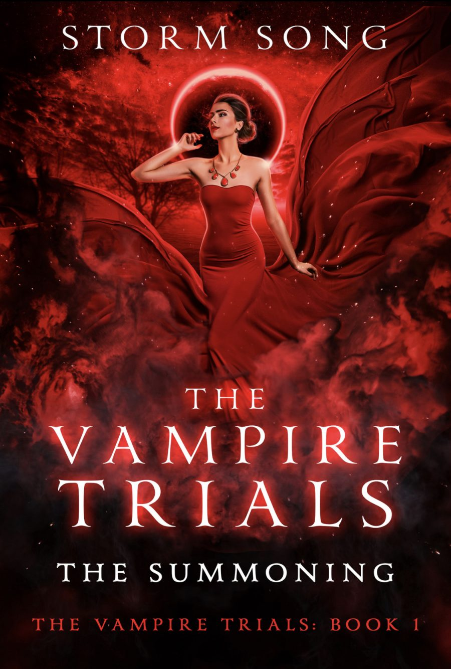 The Summoning (The Vampire Trials - Book 1) by Storm Song - A Book Review #BookReview #PNR #FastBurn #RH #ReverseHarem #Vampires #KindleUnlimited #KU