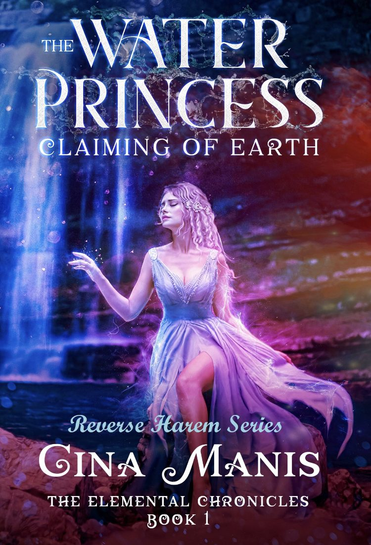 The Water Princess Claiming of Earth by Gina Manis - A Book Review #BookReview #Fantasy #MediumBurn #RH #3Stars #KindleUnlimited #KU