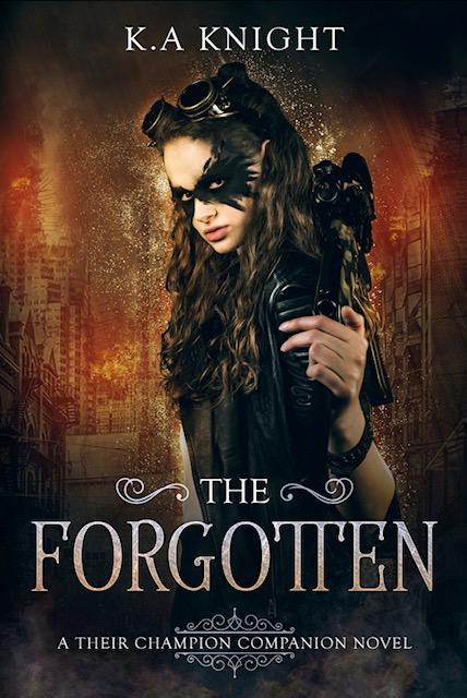 The Forgotten (Their Champions's Companion Novel - Book 1) by K.A. Knight - A Book Review #5Stars #Dystopian #RH #KU #Brutal