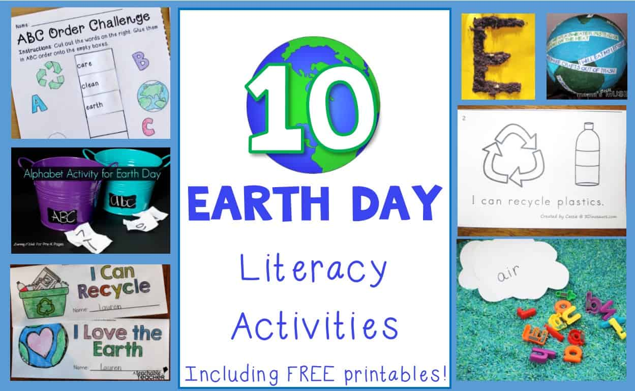 Earth Day Literacy Activities For Preschool And Early