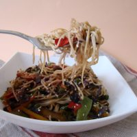 Vegetable Chow Mein Stir-Fry