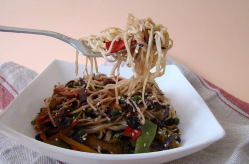 Vegetable Chow Mein Stir-Fry