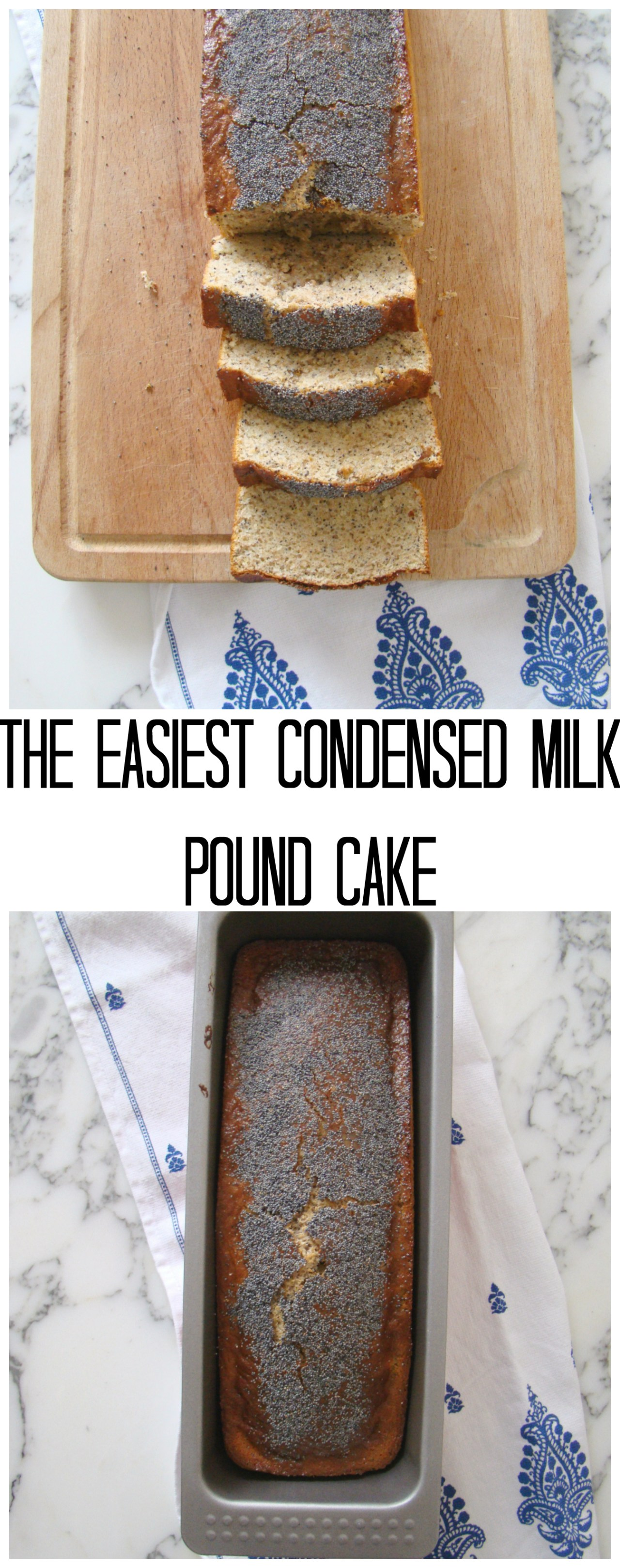 The Easiest Condensed Milk Pound Cake