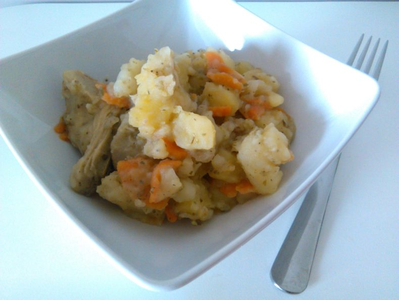 Alcachofa y Patatas Guisadas (Artichoke and Potatoes)
