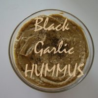 Black Garlic Hummus